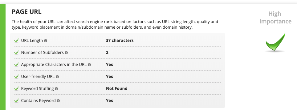 Rank Ranger's On Page SEO Tool