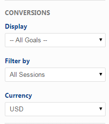 Analytics Goals and Conversions