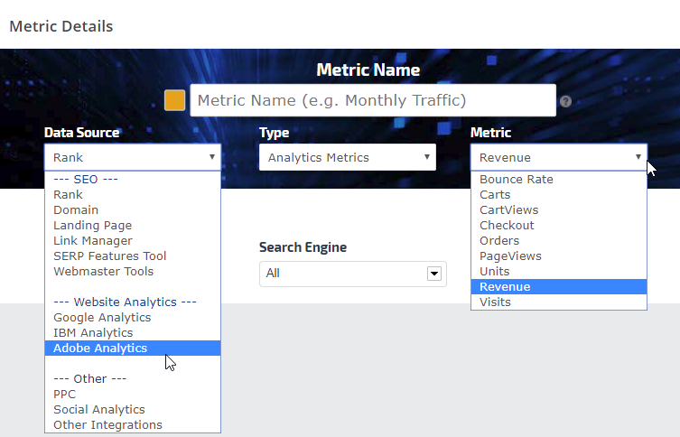 Adobe Analytics metrics
