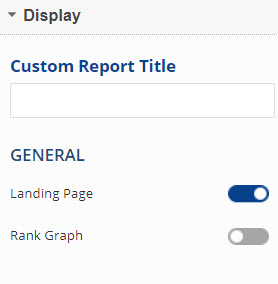 Select Rank Tracker Dashboard General Settings