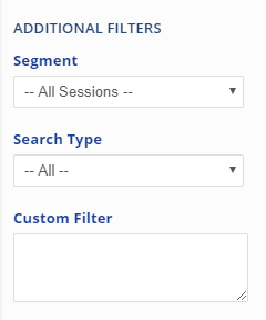 Additional Filters