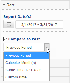 select date settings
