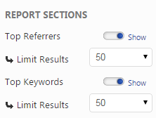 Report Sections